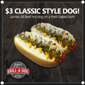$3 Classic Style Dogs
